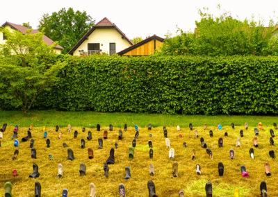 12 Gras über die Sache wachsen lassen